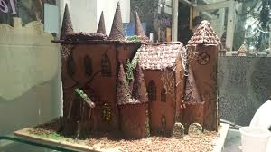 gingerbread house bespoke halloween haunted mansion