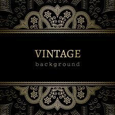 vintage black golden black vintage background free vector 51 743 free