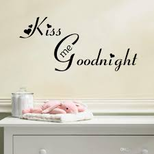 kiss me goodnight english alphabet wall stickers living room kiss me goodnight english alphabet wall stickers living room bedroom background waterproof can be removed pvc