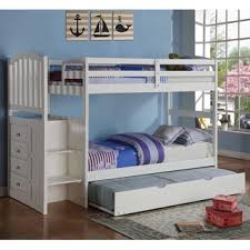 Donco Bunk Bed Donco Donco Arch Mission White Stairway Bunk Bed Free
