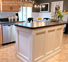 21 rosemary lane board u0026 batten kitchen island makeover