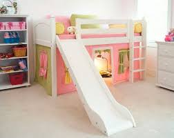 Bunk Bed With Slide And Tent Ikea Loft Bed With Slide There S Always Ol Ikea Shayna S