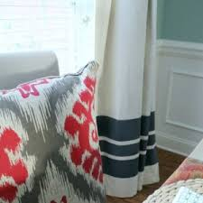 Diy Drop Cloth Curtains Drop Cloth Project Ideas The Best Of Decorating On A Budget
