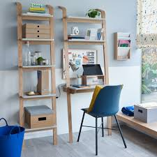 ladder style bookshelves storage ideas