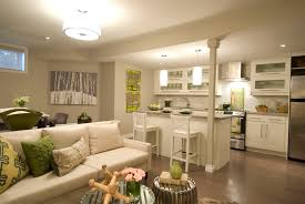Kitchen Livingroom by The 6 Elements You Need For The Perfect Finished Basement