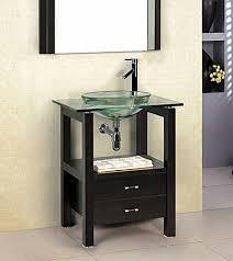 fresh living rooms bathroom vanity with glass bowl sink helkk com