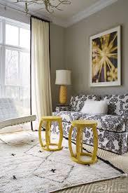 Diamond Pattern Sisal Rug Black Yellow And Gray Room Contemporary Living Room Janie