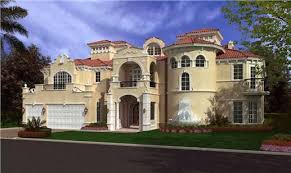 Spanish Style Floor Plans by Spanish Style House Plans Front Elevation Of These Luxury