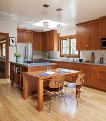 Ranch Style Kitchen Cabinets by L Shaped Ranch Remodel Exterior Eclectic With Stucco Teak Garden