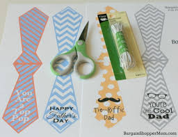 fathers day gifts diy easy gift free s day printables necktie