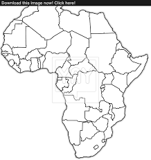 Picture Of Africa Map by Africa Political Map Image Yayimages Com