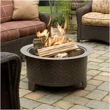 amazon com cobraco woven base cast iron fire pit fbciwoven bz
