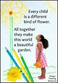 every child is special and unique quotes sayings and