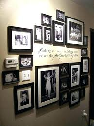 ideas for displaying pictures on walls ideas for displaying family photos on wall a floor to ceiling
