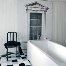 black white bathroom ideas black and white bathroom designs ideal home