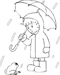 raindrop coloring sheets children u2013 barriee