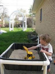diy sand and water table pvc pvc pipe sand water table why pay for an expensive one fro
