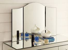 interior 3 sided mirrors with trifold mirror