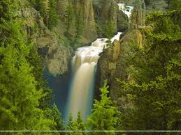 Wyoming waterfalls images Waterfalls lakes waterfalls fall scenery wyoming rivers national jpg