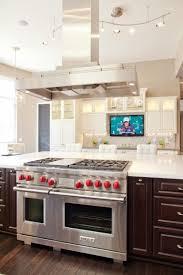 kitchen television ideas 16 best island gas range images on kitchens