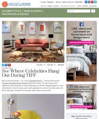 House And Home Magazine by Press Jane Lockhart Interior Design