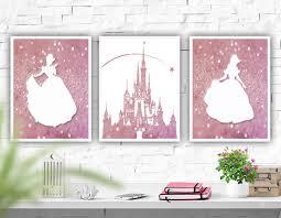 printable art disney castle nursery wall art atartdigital