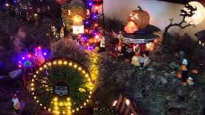 hawthorne village halloween department 56 dads completed halloween village 2012 2013 youtube