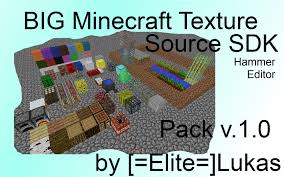 big minecraft texture pack v 1 0 520p counter strike source
