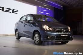 2016 honda amaze facelift launched priced from rs 5 30 lakhs