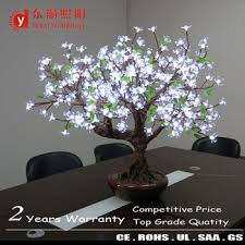 indoor hotel decoration led cherry blossom tree light ornamental