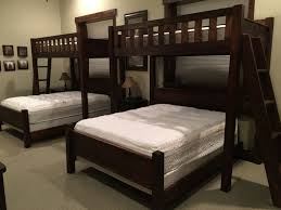 Bunk Beds  Twin Over Queen Bunk Bed With Trundle King Size Bunk - Twin xl bunk bed