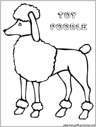 poodle coloring page free coloring pages on art coloring pages