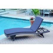 Blue Chaise Lounge Resin Chaise Lounge