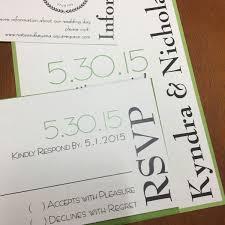 Flat Invitation Cards Flat Wedding Invitations By Northerly Design U0026 Printing