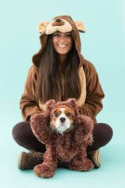 4 funny diy dog and dog owner costumes teddy bear costume bear