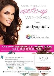 make up classes win 1 of 5 tickets to bodyography make up classes