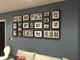 photo wall ikea ribba frames u2026 pinteres u2026