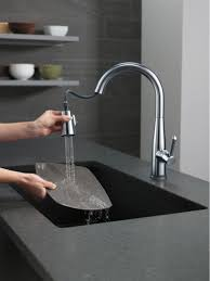Kitchen Faucets Touch Technology 9113tardst In Arctic Stainless By Delta Faucet Company In Atlanta