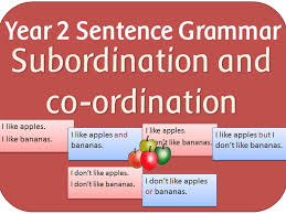 spag year 2 sentence subordination and co ordination powerpoint