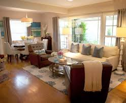living and dining room design interior delightful design interior with brown leather single