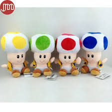 aliexpress buy super mario bros toad plush soft toy