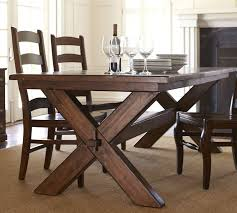 pottery barn farm table toscana dining table tuscan chestnut dining tables and woods