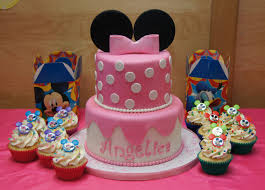 minnie mouse cake and cupcakes cake in cup ny