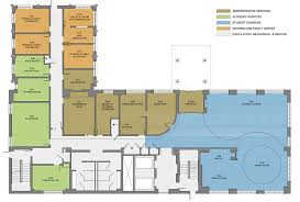 administration office floor plan naming opportunities center for wounded veterans in higher education