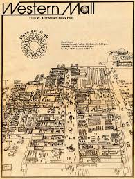 Sioux Falls Map Greetings From Sioux Falls Presents