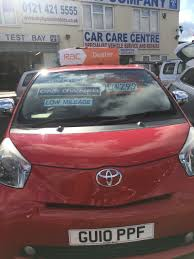 used toyota iq red for sale motors co uk