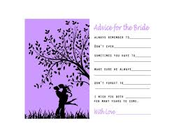 Advice Cards For Bride Printable Bridal Shower Advice Card Bride To Be Advice Cards