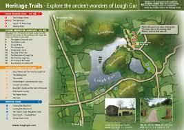 Green Circle Trail Map Walking Trail Lough Gur