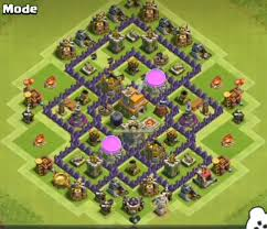 layout design th7 12 best town hall 7 hybrid bases 2018 new 3 air defenses