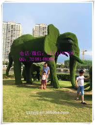 Horse Topiary Large Artificial Wire Animals Topiary For Garden Decoration